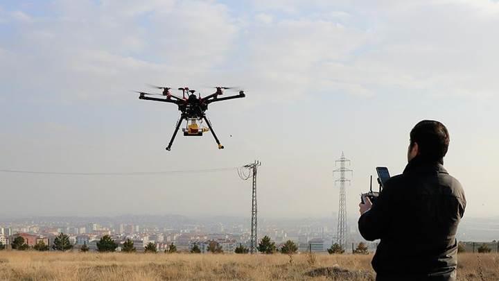 Drone teknolojisi tarımsal verimliliği yüzde 10 arttıracak