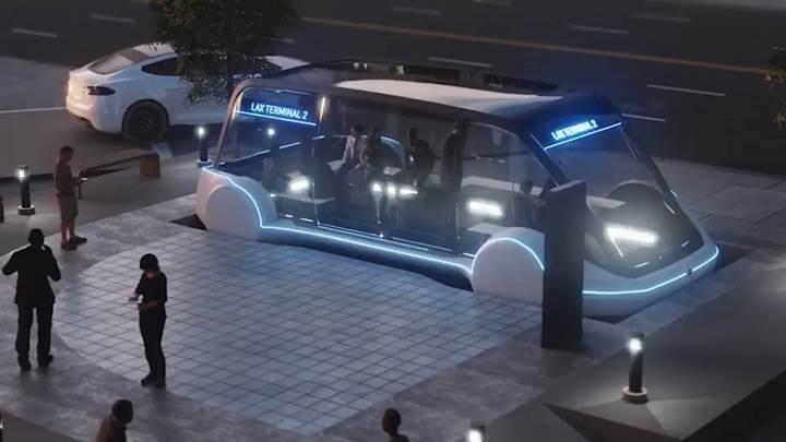 Elon Musk geleceğin 'toplu taşıma' sistemini tasarlıyor
