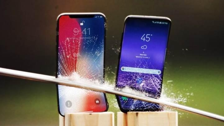 iPhone X vs Galaxy S9+