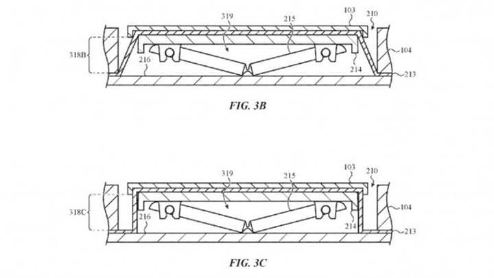 Apple, sıvı ve kırıntı geçirmez klavye üretmek için patent aldı