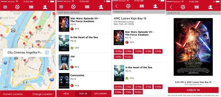 Now MoviePass uygulamasından açıklama: Kullanıcılarımızı takip etmiyoruz