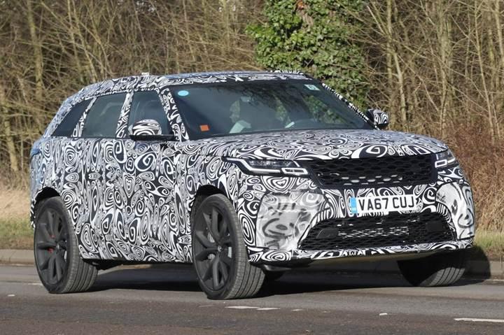V8 motorlu Range Rover Velar SVR, Nürburgring'de test ediliyor