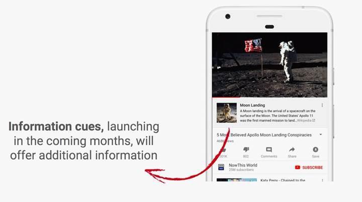 YouTube belirli videolara Wikipedia açıklamaları ekleyecek