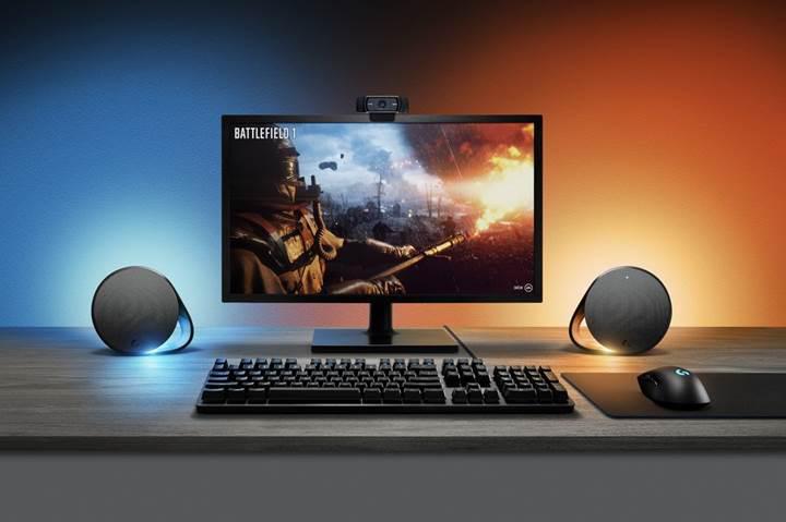 Logitech'ten oyuna tepki veren RGB aydınlatmalı hoparlör