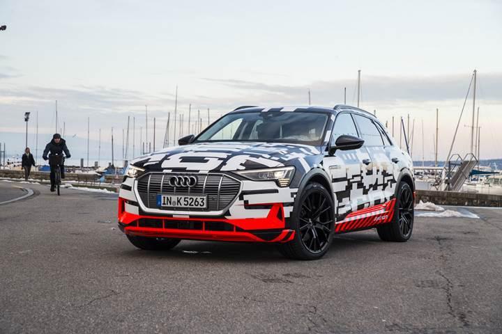 Audi E-Tron'un satış fiyatı belli oldu