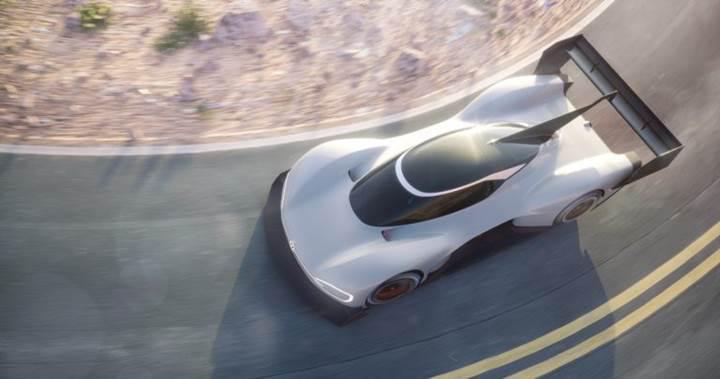 Volkswagen'in Pikes Peak yarışı için geliştirdiği I.D R prototipi ortaya çıktı