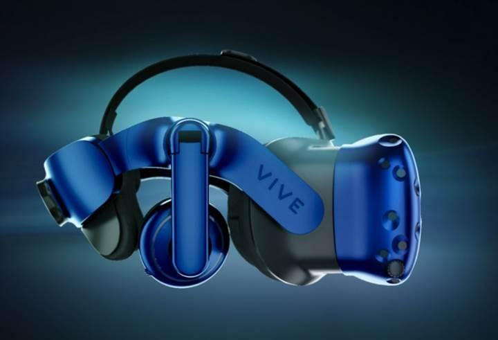 HTC Vive Pro sanal gerçeklik başlığı 799 dolar fiyatla ön siparişe açıldı