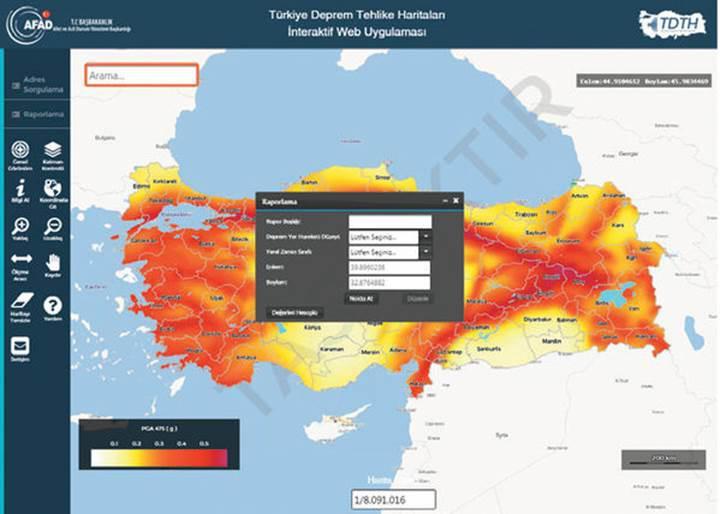 AFAD'dan deprem sorgulama sistemi