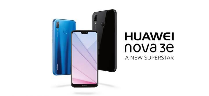Huawei Nova 3E ön kamerada bir ilke imza atıyor