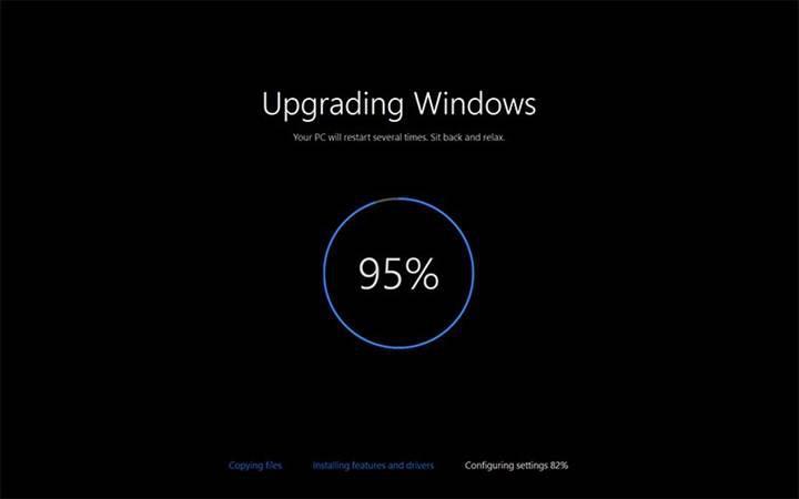 Windows 10'un bir sonraki güncellemesi sadece 30 dakikada yüklenecek