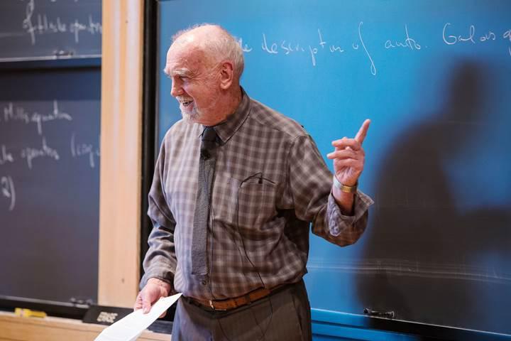 ODTÜ'de çalışıp Türkçe öğrenen ünlü matematikçi,