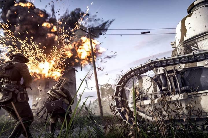 Battlefield 1 botları artık kendi öğrenecek