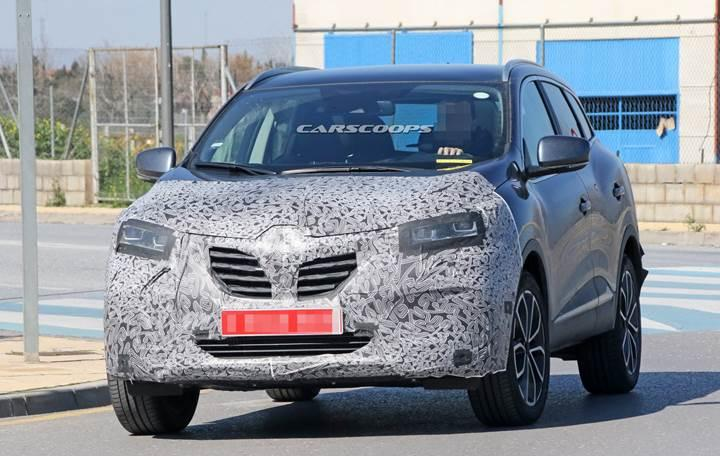 Makyajlı Renault Kadjar ilk kez göründü
