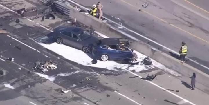 Tesla Model X kaza yaptı: 1 ölü