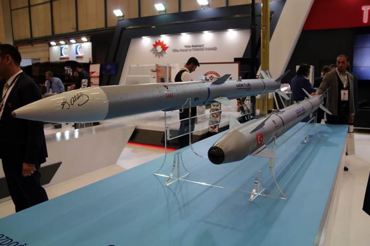 İlk milli hava-hava füzelerinin atış testi gerçekleştirildi