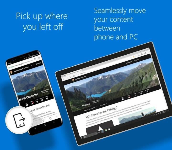 Microsoft Edge artık iPad ve Android tabletleri de destekliyor