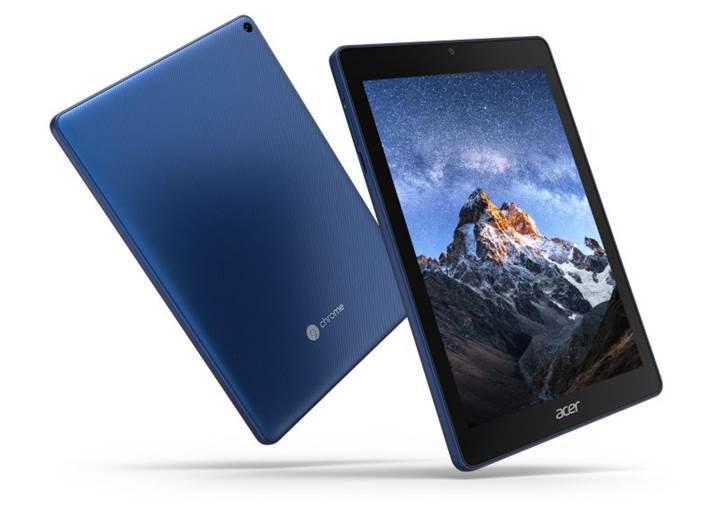 Dünyanın ilk Chrome OS tableti Acer Chromebook Tab 10 duyuruldu