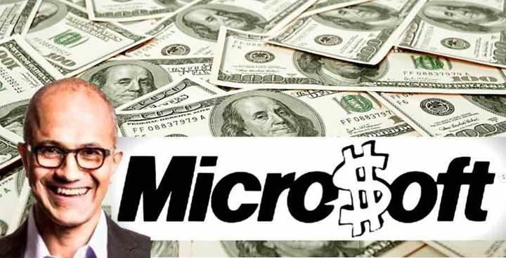 Microsoft'un piyasa değeri 1 trilyon dolara ulaşabilir