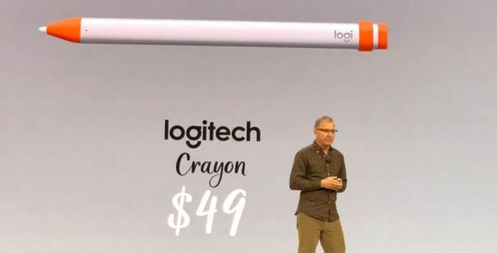 Apple Pencil'ın yarı fiyatına yeni kalem geldi: Logitech Crayon