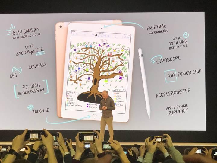 Apple Pencil destekli ve en ucuz iPad duyuruldu