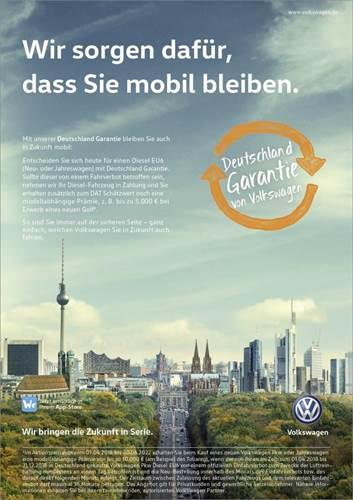 Volkswagen, dizel araçlara değişim garantisi veriyor