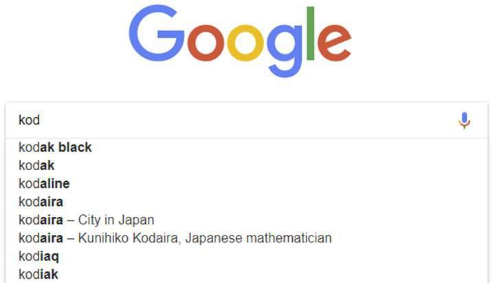 Google, korsan içerik için kullanılan Kodi'yi arama otomatik tamamlamadan çıkardı