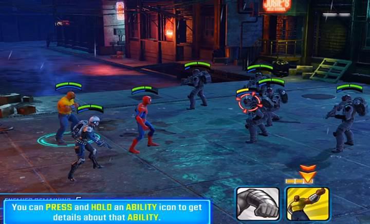 Süper kahramanların mücadelesi Marvel Strike Force indirmeye sunuldu