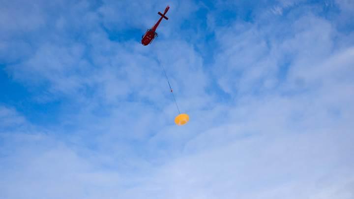 Avrupa Uzay Ajansı'nın dev paraşütü ilk testi geçti