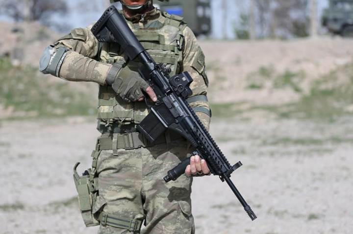 Milli piyade tüfeği MPT 76, askeri birliklerin kullanımına sunuldu