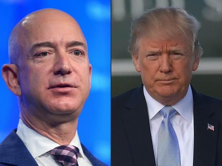 Trump, Amazon'u yeniden hedef tahtasına koydu