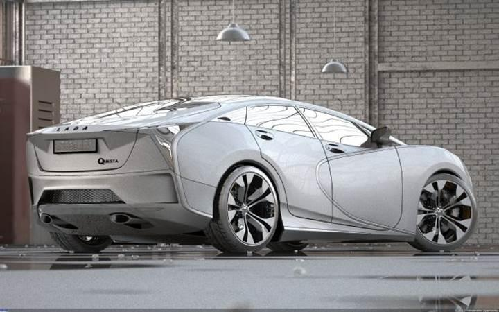 Rus efsanesi Lada'ya süper otomobil dopingi: Lada Questa