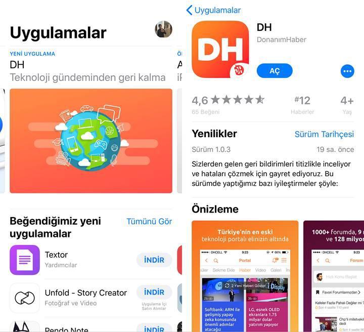 DH uygulamasının güncel sürümleri yayınlandı, hemen indirin!