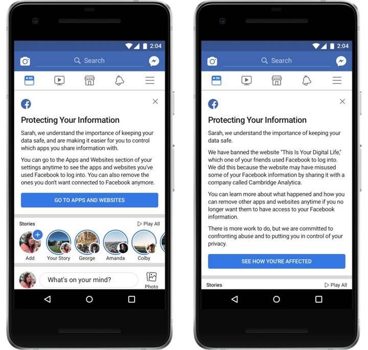 Facebook'tan şok açıklama: Veri skandalı 87 milyon kullanıcıyı etkilemiş olabilir