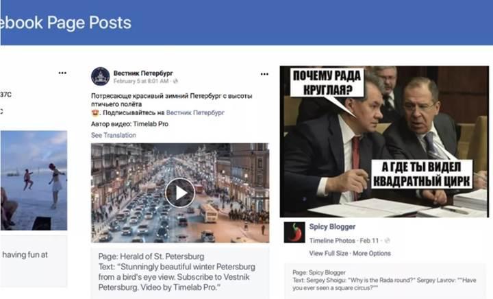 Facebook, Rusya ile ilişkili 273 hesap ve sayfayı kapattı