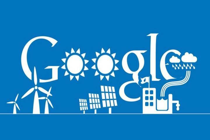Google tükettiğinden daha fazla yenilenebilir enerji satın alıyor