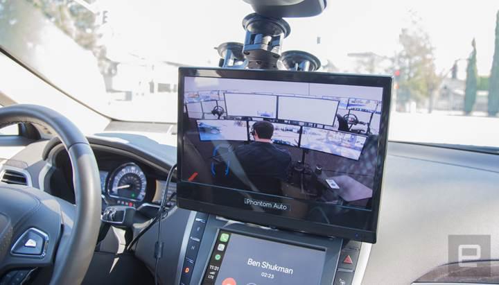 Amerikalı şirket, sürücüsüz araçları uzaktan kontrol etmek istiyor