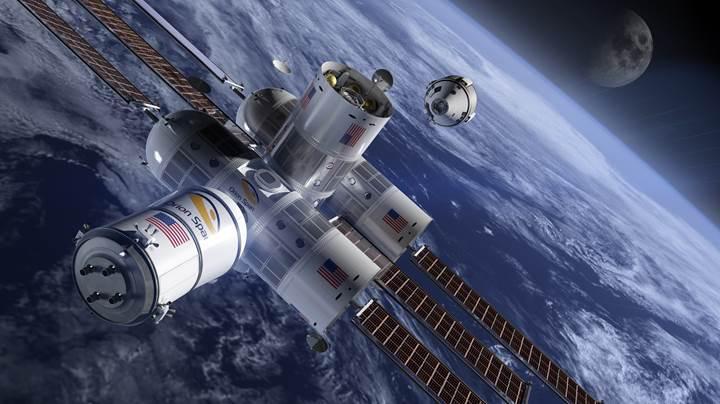 İlk lüks uzay oteli Aurora Station 2022 yılında misafirlerini ağırlayacak