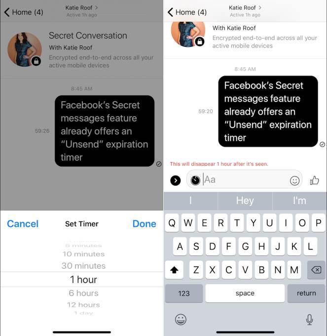 Facebook Messenger için Herkesten Sil özelliği planlanıyor