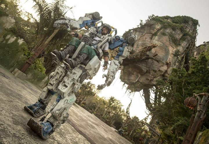 Disney'in Avatar temalı parkına, filmde yer alan robot ekleniyor