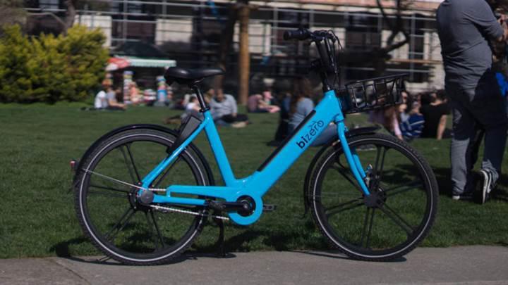 Elektrikli bisiklet paylaşım girişimi Bizero, yeni bisikletini tanıttı