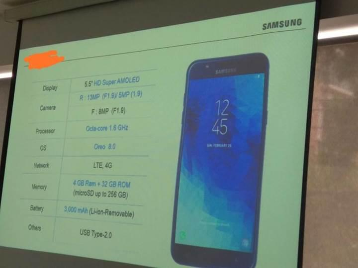 Samsung Galaxy J7 Duo'nun teknik özellikleri sızdı