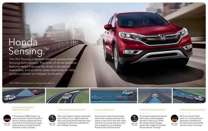 Honda Sensing, 2022 itibariyle tüm araçlarda standart olacak