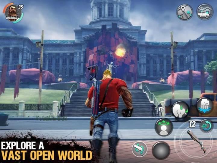 Dead Rivals - Zombie MMO mobil çıktı