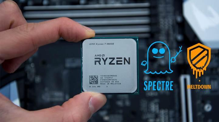 AMD, Spectre Varyant 2 açığından etkilenen işlemciler için yama çıkardı