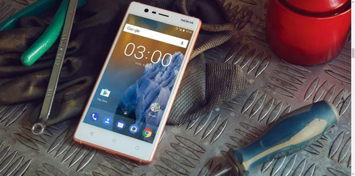 Nokia 3 için Android 8.0 Oreo güncellemesi yayınlandı