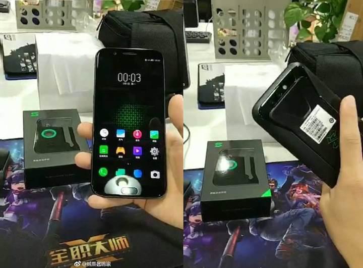 Xiaomi'nin oyuncu telefonu Black Shark, çalışırken görüntülendi
