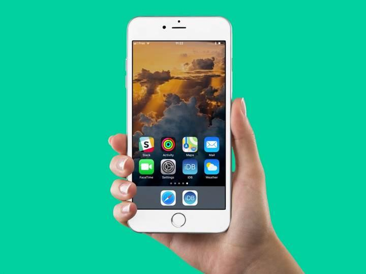 iPhone'da Jail Break'siz uygulama çekmecesinde boş alan nasıl açılır?