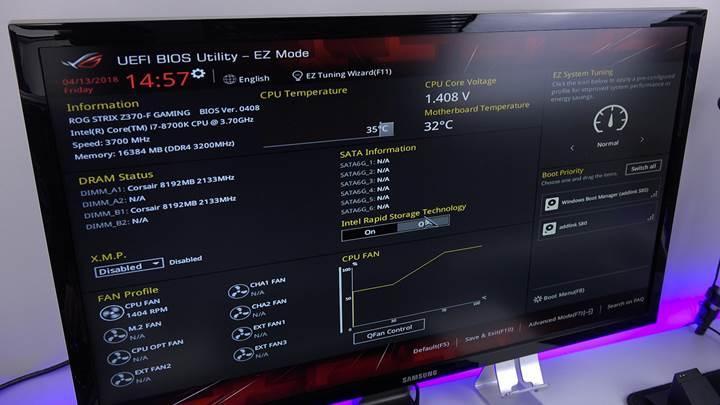 Asus ROG Strix Z370-F Gaming anakartı inceledik 'i7 8700K ile 5.1GHz!'