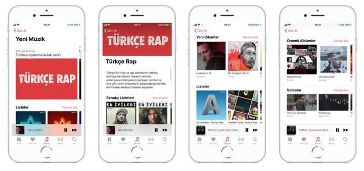 Apple Music'te Türkçe Rap odası açıldı