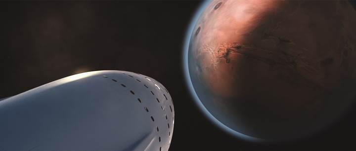 İnsanlığı Mars'a taşıyacak olan dev uzay gemisi, Los Angeles'ta üretilecek